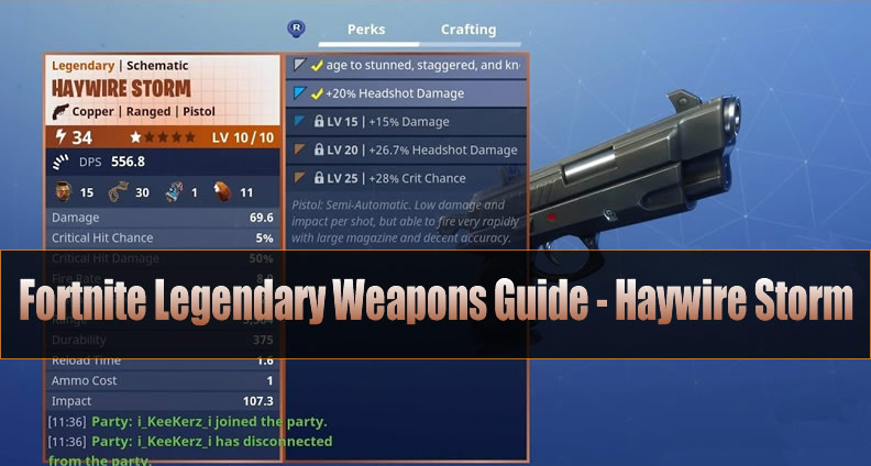 Fortnite Haywire Storm Guide