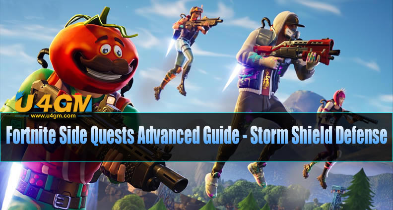 Fortnite Side Quests Advanced Guide - Storm Shield Defense