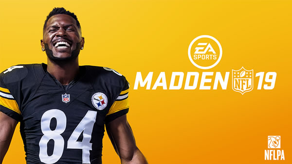 Antonio Brown Becomes the Cover Athlete in Madden 19