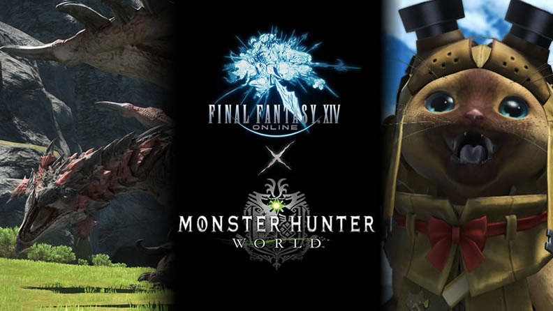 FFXIV & Monster Hunter - Check Out What Themed Rewards You