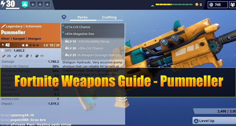 Fortnite Pummeller Guide Pros And Cons Vs Other Weapons U4gm Com