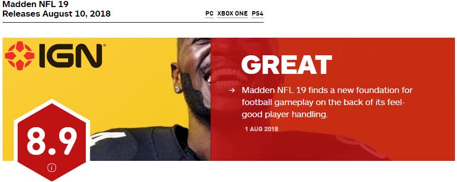 Madden NFL 19 - Madden-Store com