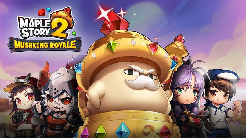 MapleStory 2 Mushking Royale