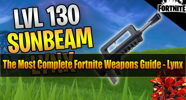 The Most Complete Fortnite Weapons Guide Lynx U4gm Com