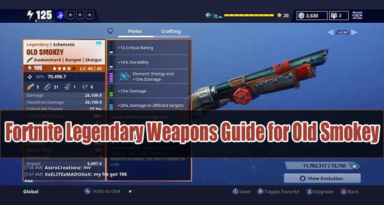 Fortnite Weapons Guide for Old Smokey