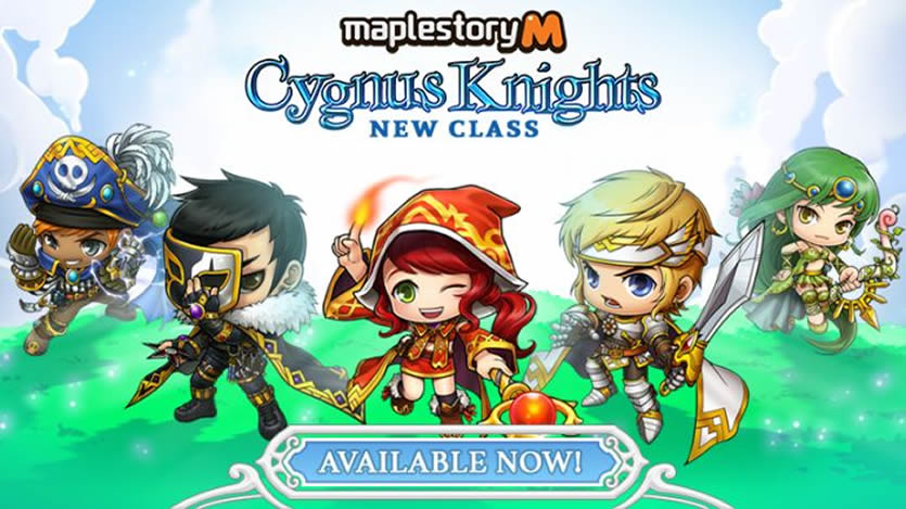 MapleStory M Brings the New Cygnus Knight Class on Board
