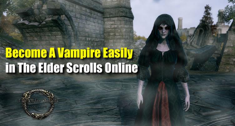 The Elder Scrolls Online Vampire