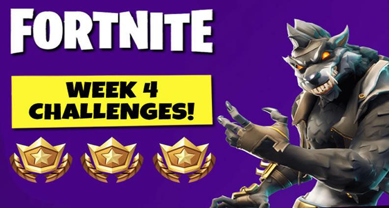 Complete Guide On Fortnite Season 6 Week 4 Challenges U4gm Com
