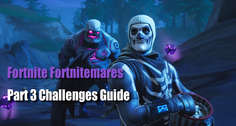 Fortnite Fortnitemares Challenges