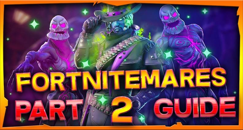 Fortnite Fortnitemares Challenges Part 2 - Ghost ...