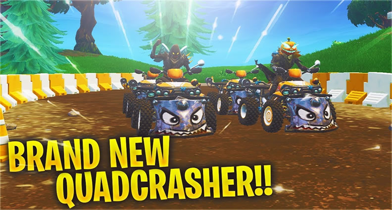 Fortnite S New Quadcrasher Has Become The New Favorite Of Players