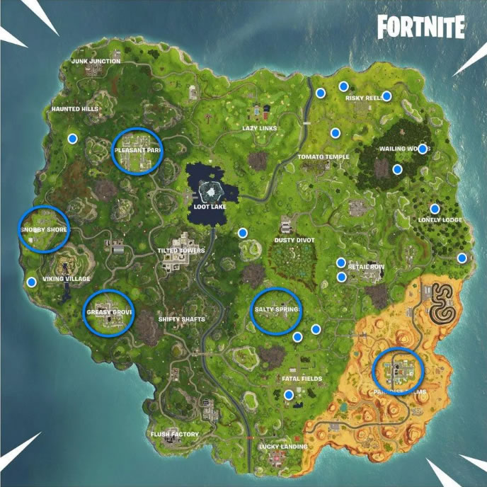 Fortnite Season 6 Week 4 Challenges