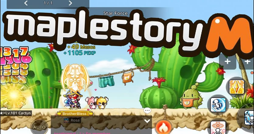 What're the Best Places to Grind in MapleStory M