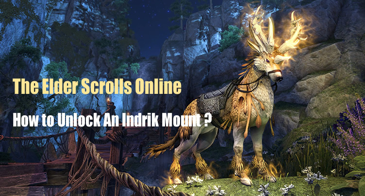 Indrik Mount in The Elder Scrolls Online