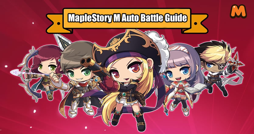 Auto Battle in MapleStory M