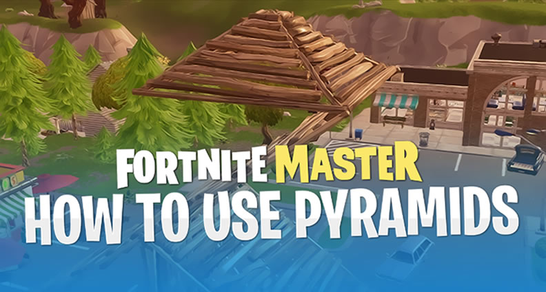Pyramid Roof Tile in Fortnite