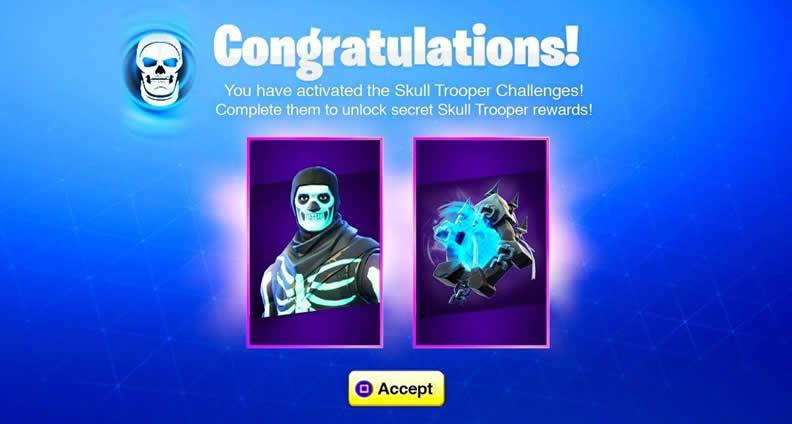 Fortnite Skull Trooper Challenges Guide