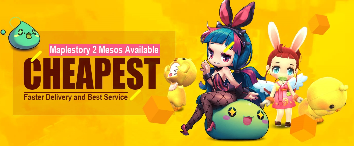 Selling] 【HOT】Selling Cheap MapleStory 2 Mesos Safe & Fast