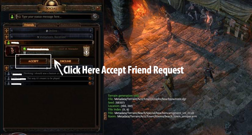 Poe Currency Friend Request