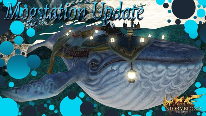 FFXIV - Indigo Whale Mount and Other Items Available in the