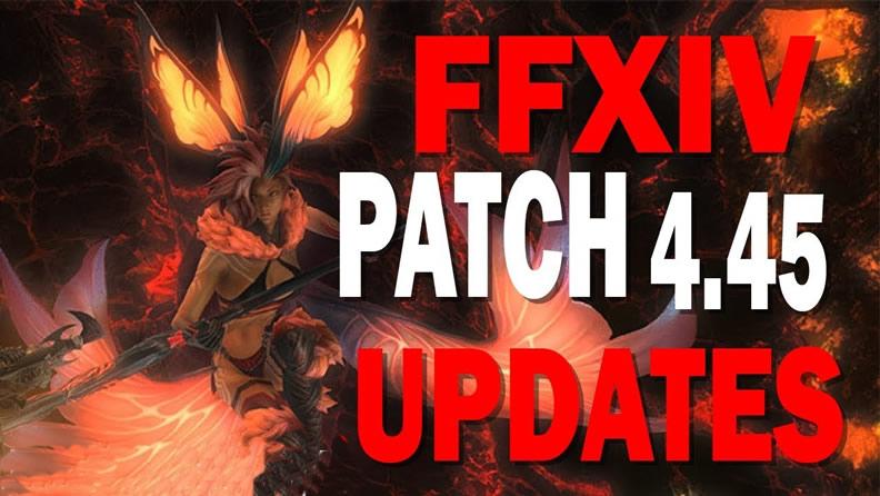 FFXIV patch 4.45