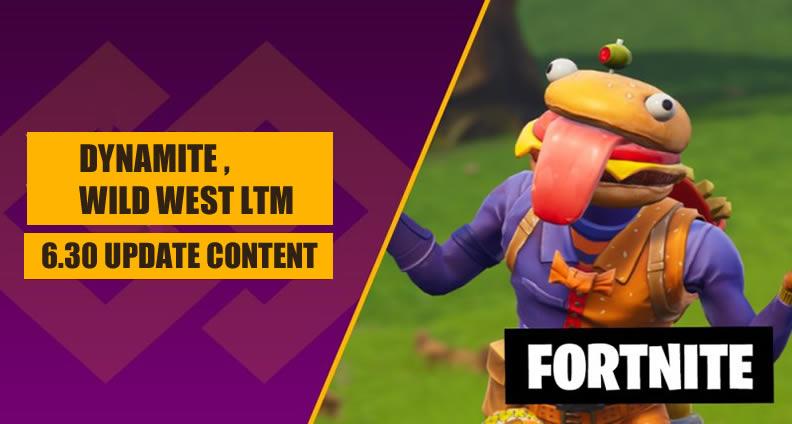 Fortnite Patch 6.30 Update