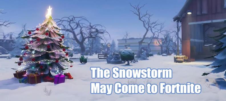 Fortnite Snowstorm