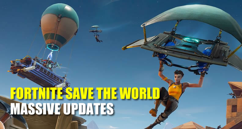 Fortnite Save the World Updates