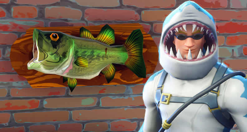 Fortnite Fish Trophy and Clay Pigeon Locations