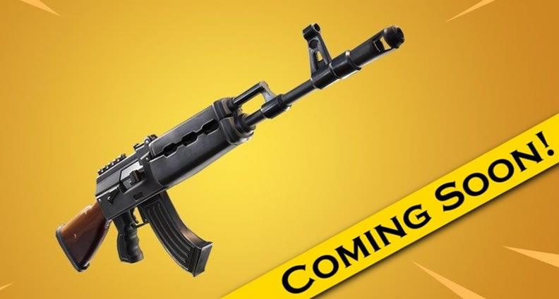 Fortnite Brand New Heavy AR