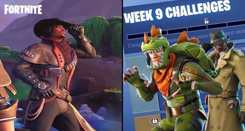 Fortnite Season 6 Week 9 Challenges
