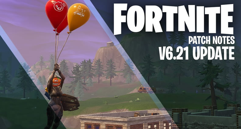 Fortnite Patch V6.21