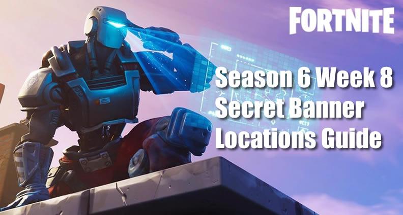 Fortnite Week 8 Secret Banner Guide