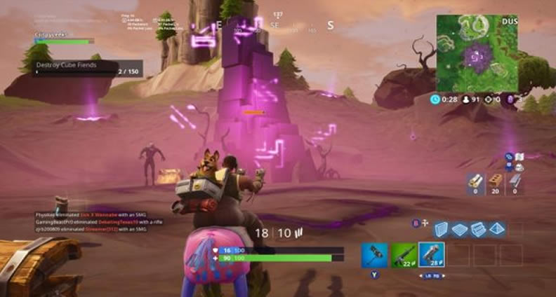Fortnitemares Part 4 Cube Fragments