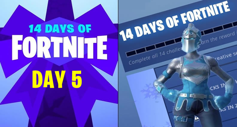 14 Days of 'Fortnite' Day 5 Challenges Guide