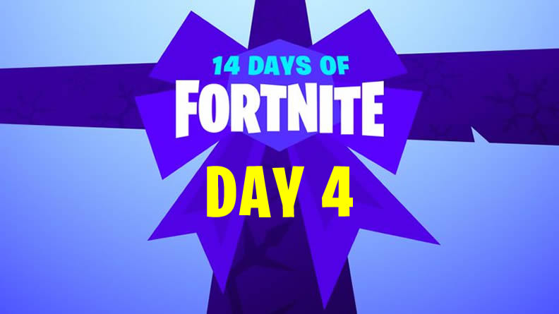 14 Days of Fortnite Day 4 Guide