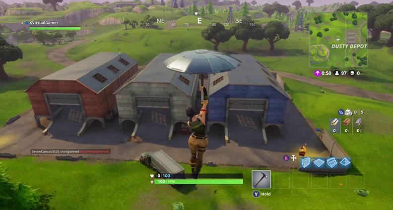 Fortnite Dusty Depot