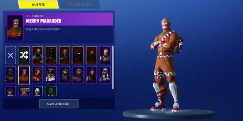 Fortnite A Gingerbread Man Pet