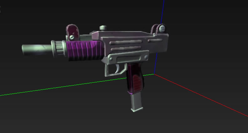Fortnite Machine Pistol