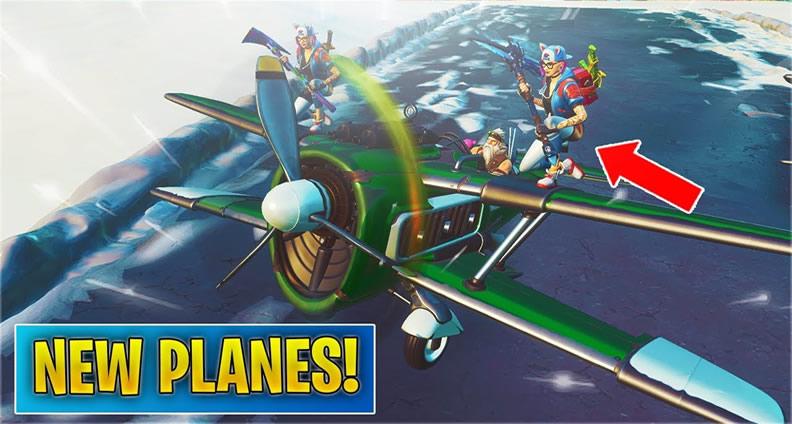 Fortnite Planes