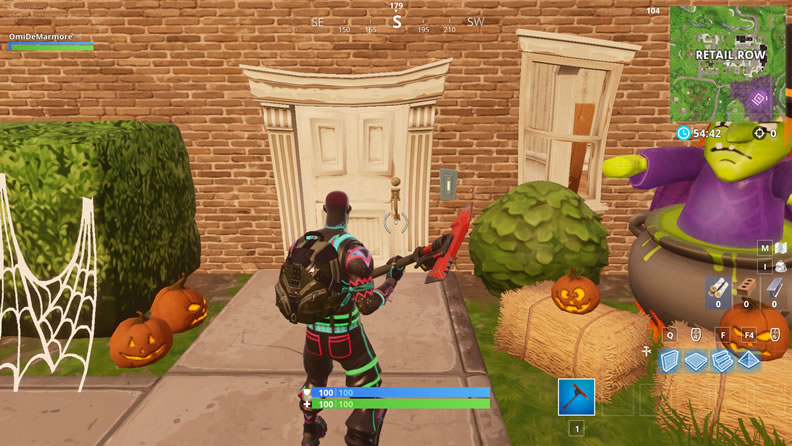 Fortnite Ring Doorbells in Different Named Locations