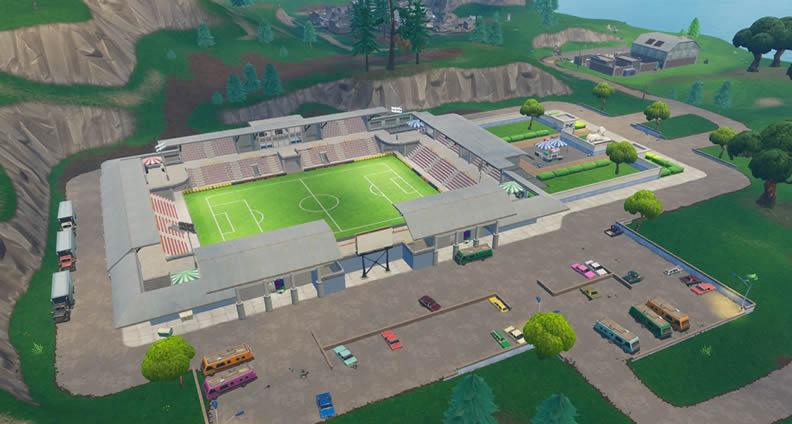 Fortnite Soccer Stadium