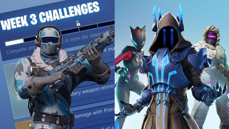 Fortnite Week 3 of Season 7 Challenges