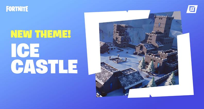 Fortnite Ice Castle