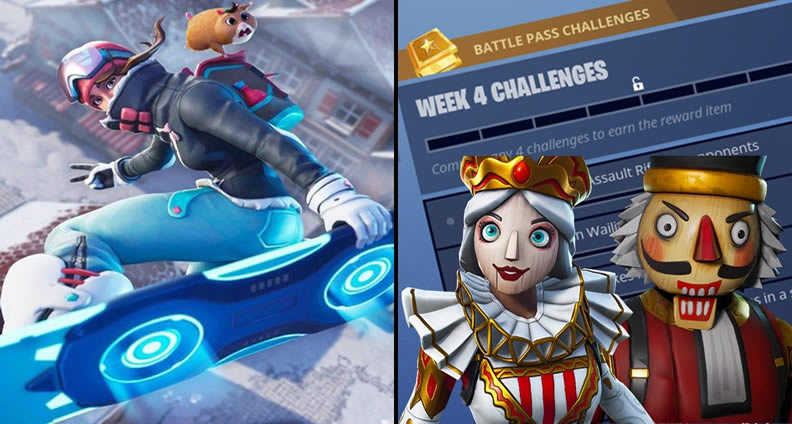 What Are The Fortnite Season 7 Week 4 Challenges How To Complete