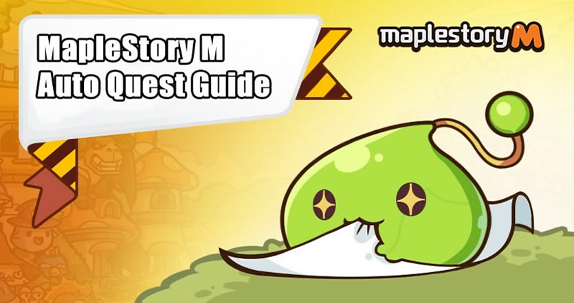 MapleStory M Auto quest
