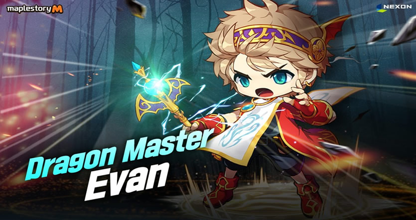 MapleStory M's Update Brings New Magician Dragon Master and Mini-Games