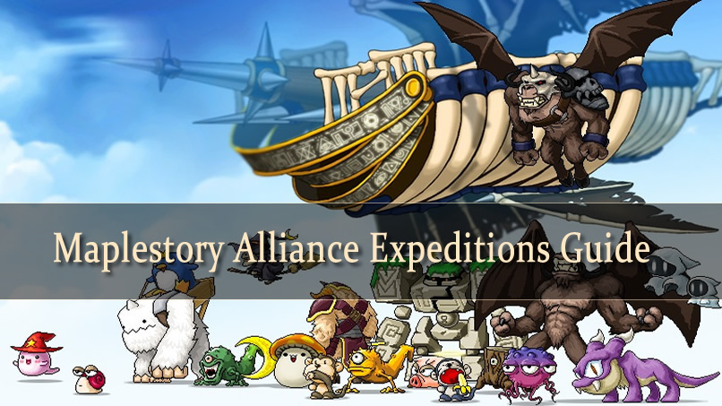 Maplestory Alliance Expeditions Guide