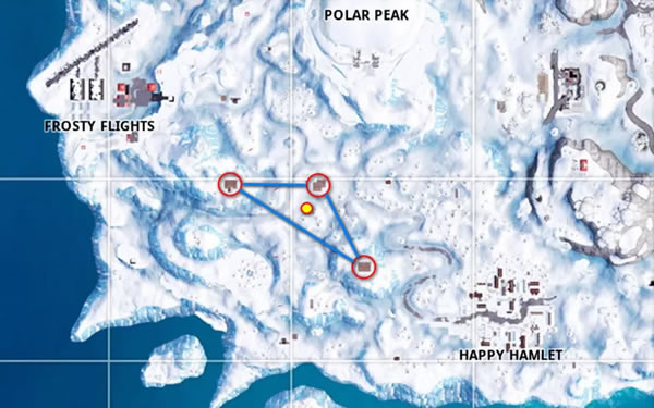 fortnite ski lodges locations