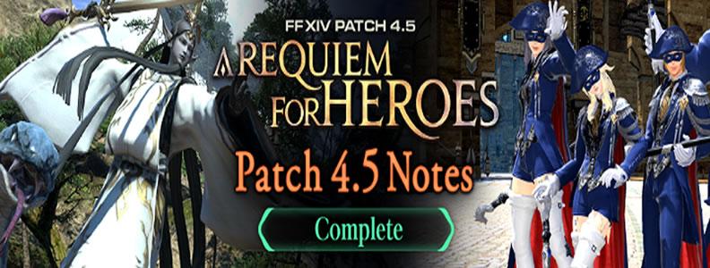 FFXIV 4.5 Patch